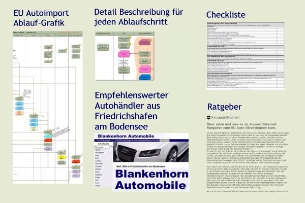 bau von geb uden auto kaufen in deutschland einfuhren in die schweiz. Black Bedroom Furniture Sets. Home Design Ideas