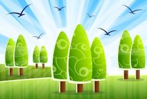 CO2 Emission Auto Umweltschutz Landschaft